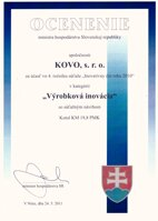 Slovak innovative act of 2010